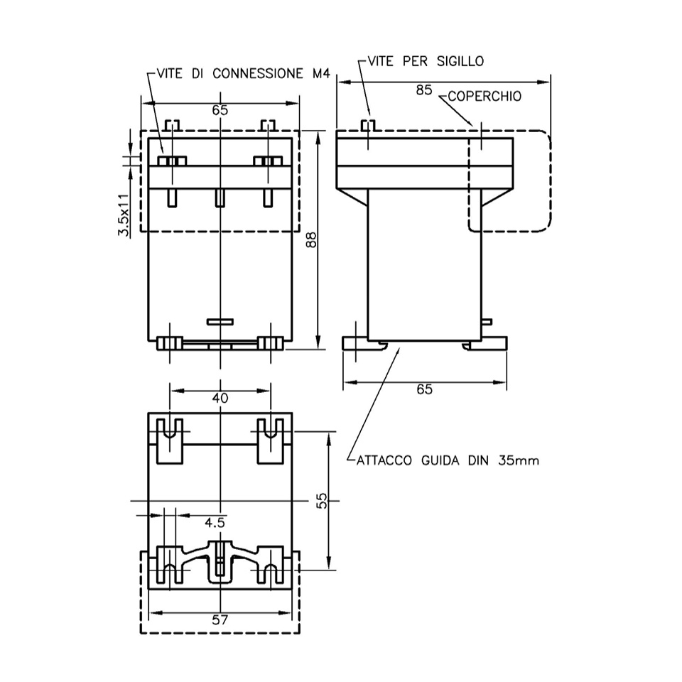 Ballast Load Impedances 5 Pin Din To 35mm Wiring Diagram Drawing Current Voltage Transformers